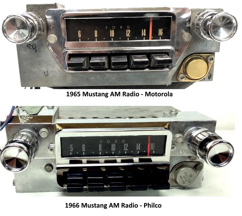 mustang-radio-motorola-philco