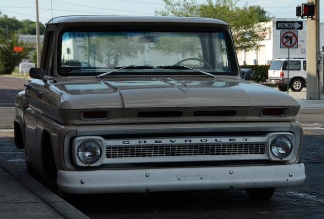 vintage Chevrolet truck radios