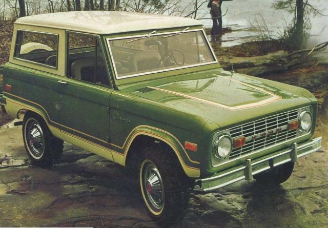 Ford Bronco radios